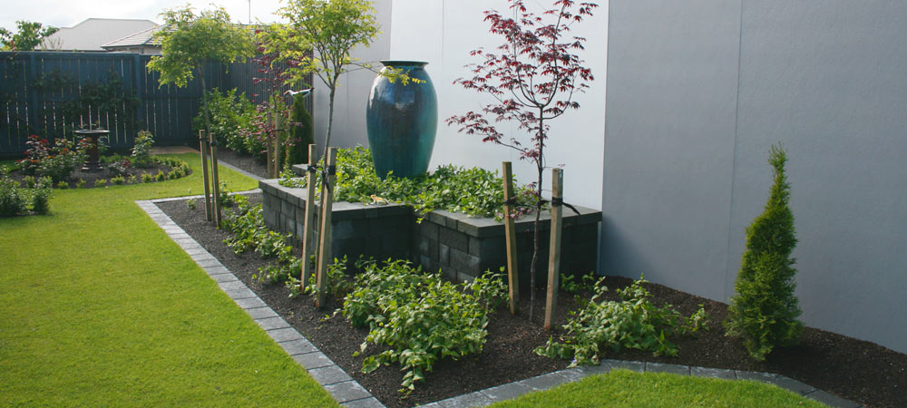 Jim burrows landscaping christchurch landscaper paving for Landscape design christchurch nz